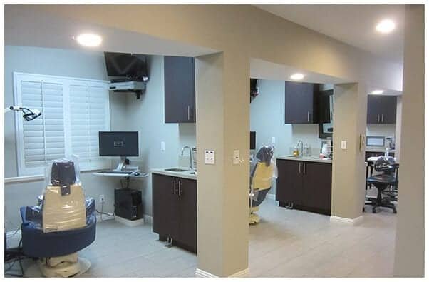 Interior photo of Dr. Thein's exam rooms