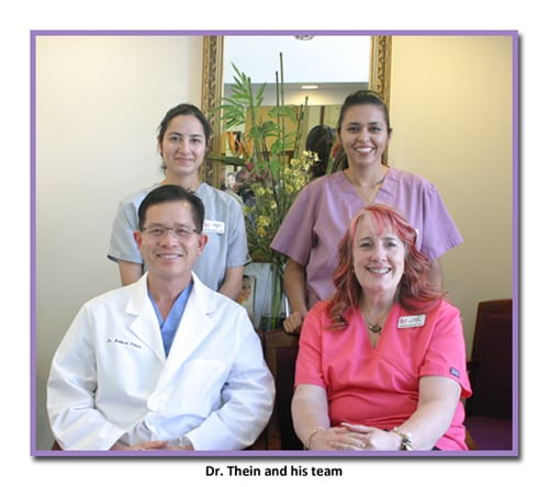 Photo of the team at Boston Dental Care, the office of Los Angeles implant dentist Dr. Robert Thein.